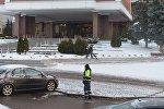 В белорусской столице идут последние приготовления к встрече руководителей внешнеполитических ведомств стран нормандской четверки