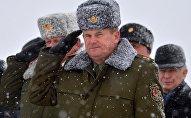 Министр обороны Республики Беларусь Андрей Равков
