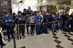 Журналисты в Президент-Отеле