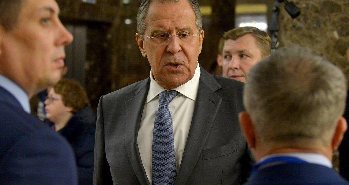 Сергей Лавров в Минске