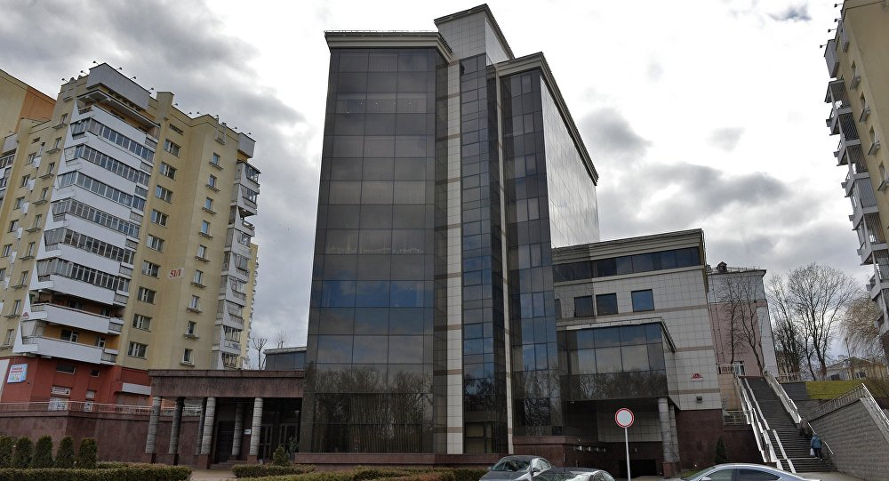 Головной офис группы компаний Трайпл на проспекте Победителей в Минске