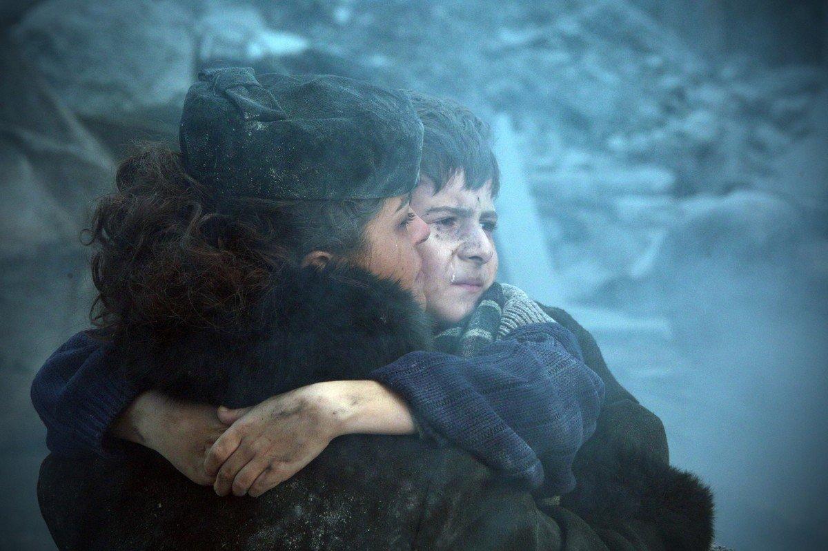 Кадр из фильма Землетрясение