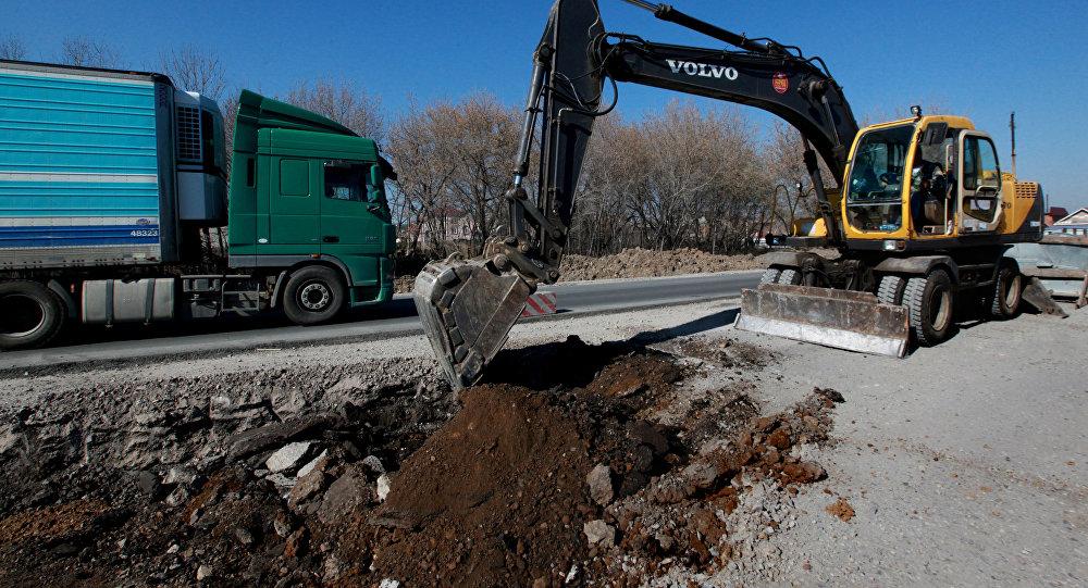 Реконструкция автотрассы