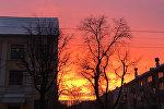 Последнее утро осени в Минске