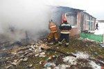 Пожар в детском саду в Дубровенском районе
