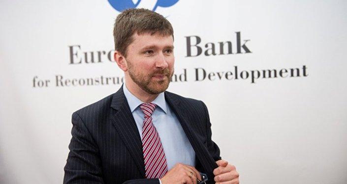 Старший советник по внешним связям ЕБРР в Восточной Европе Антон Усов