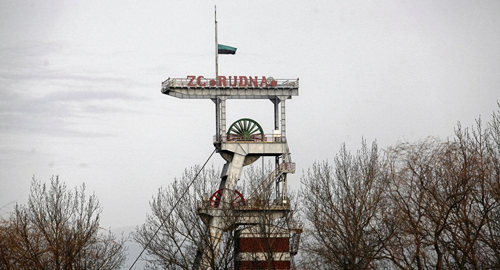 Шахта Рудна по добыче медной руды в Польше