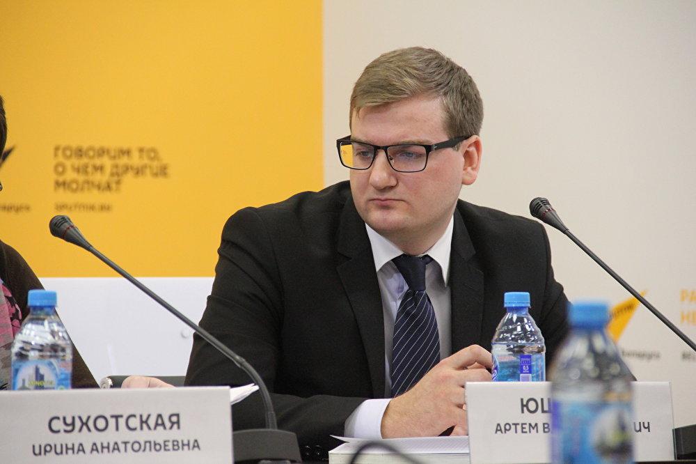 Заместитель начальника главного управления градостроительства, проектной, научно-технической и инновационной политики МАиС РБ Артем Юшкевич