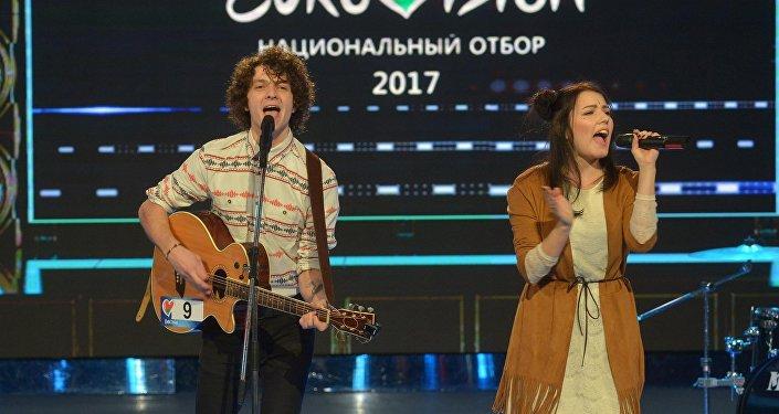 Группа Navi на отборе на конкурс Евровидение-2017