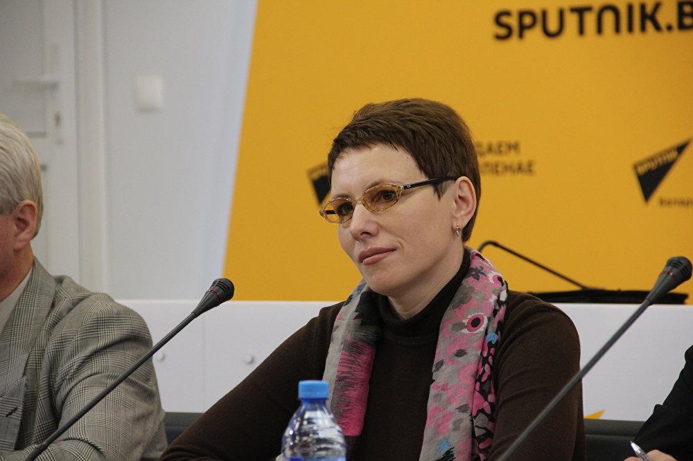 Начальник организационного отдела Центрального правления ОО БелТИЗ Ирина Сухотская