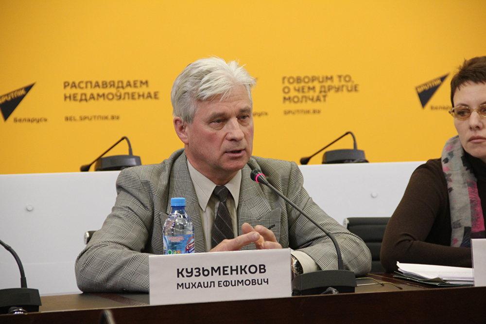 Начальник организационно-массового отдела Центрального правления ОО БелОГ Михаил Кузьменков