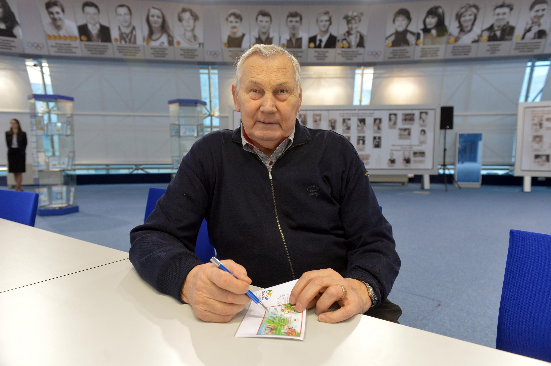 Многократный олимпийский чемпион Александр Медведь