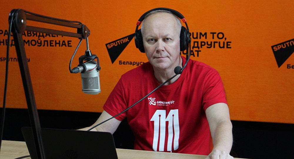 Организатор фестиваля Барабанный бит Александр Сапега