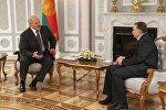 Встреча президент Беларуси Александра Лукашенко с Чрезвычайным и Полномочным Послом Азербайджана в Беларуси Исфандияром Вагабзаде