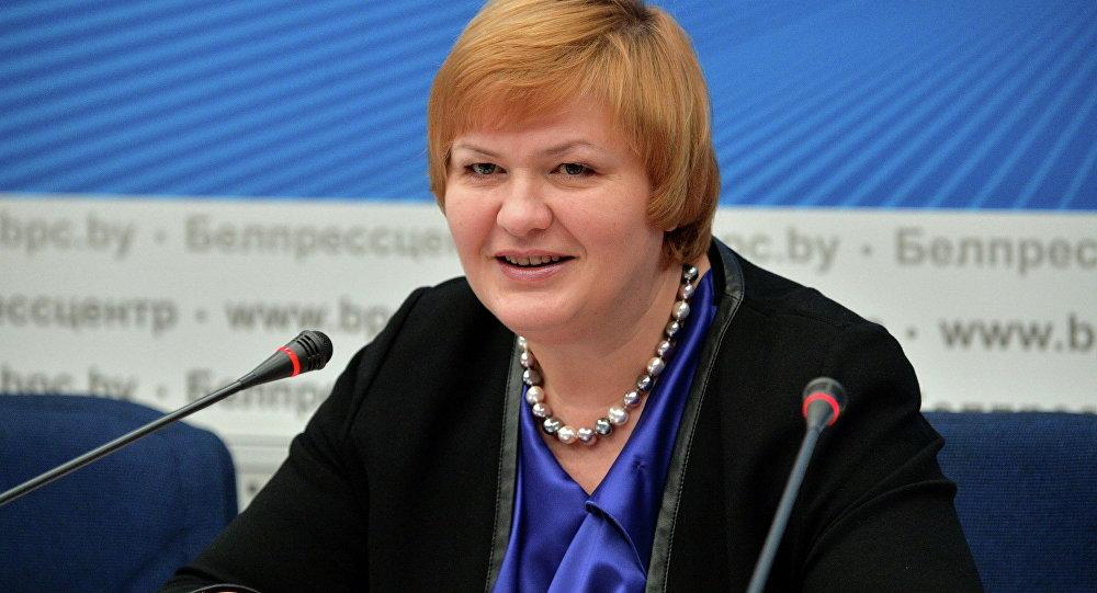 Замминистра торговли Ирина Наркевич