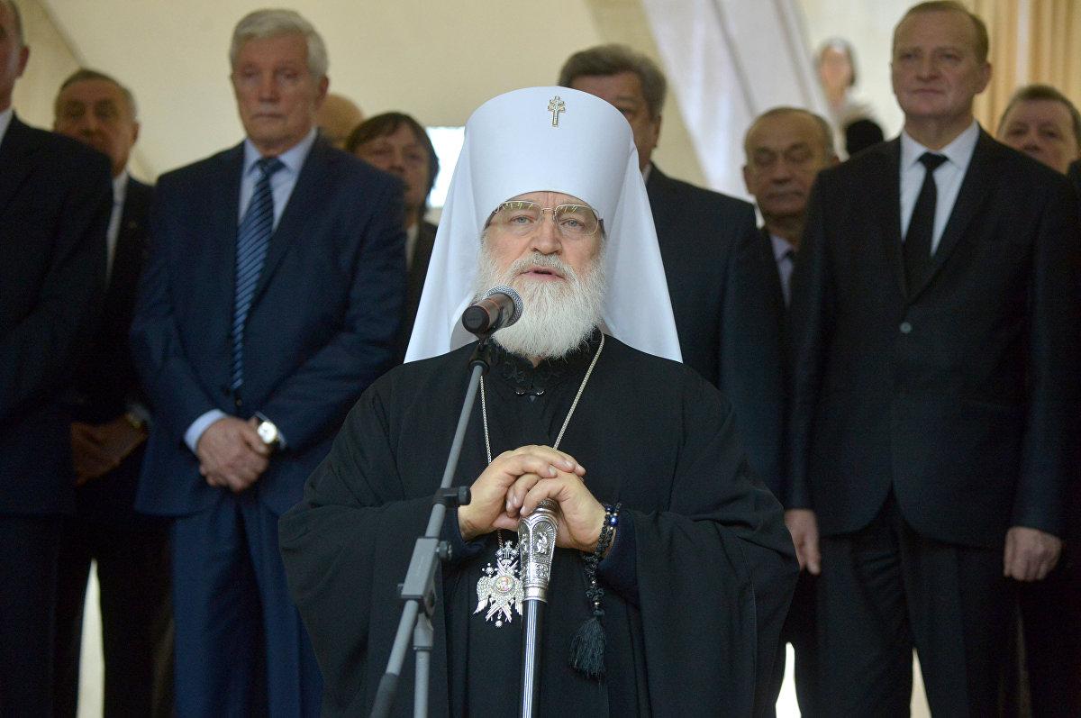 Предстоятель Белорусской православной церкви митрополит Минский и Заславский Павел