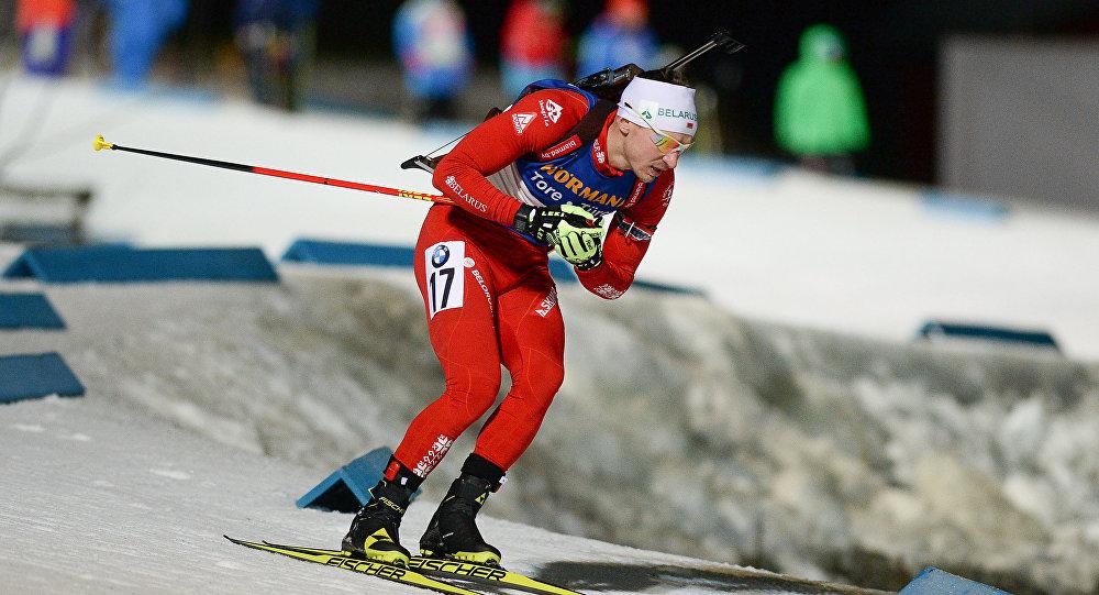 Белорус Чепелин сенсационно одержал победу бронзу вбиатлонной гонке на20км