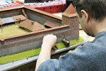 Лидский замок уже готов занять свое место в экспозиции