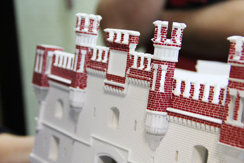 Для создания макета Брестской крепости использовали немецкие фотографии