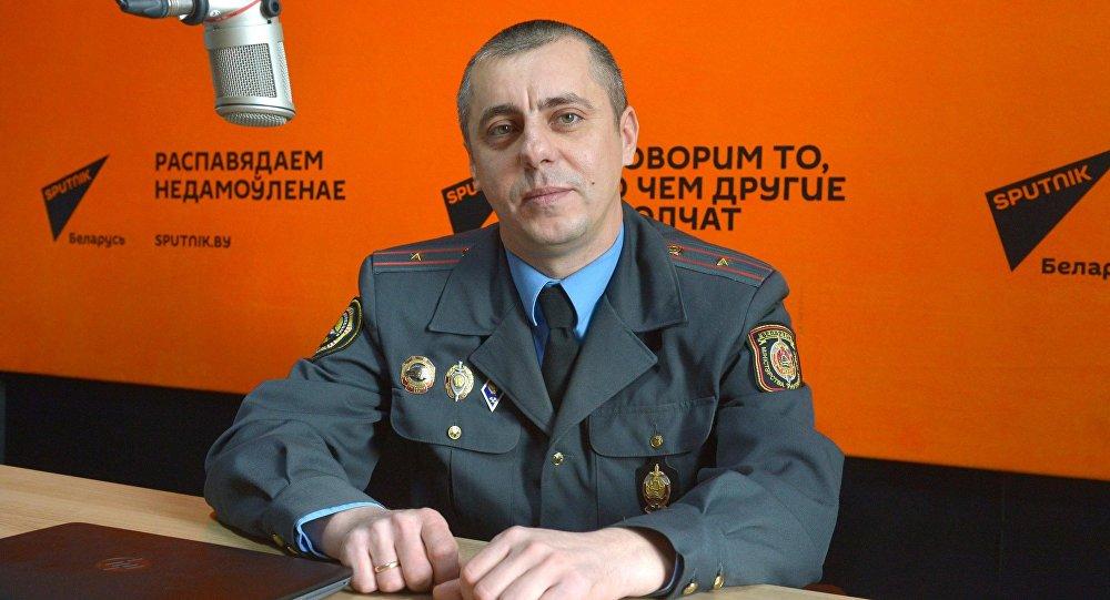 Замначальника отдела технических средств и систем УГАИ ГУВД Минска Виктор Урбанович
