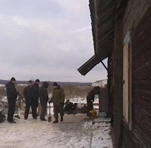 СК опубликовал видео с места, где было найдено тело убитой минчанки