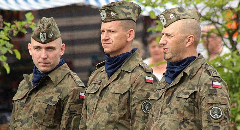 Польские военные, архивное фото