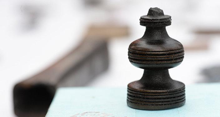 Шахматная фигура, архивное фото