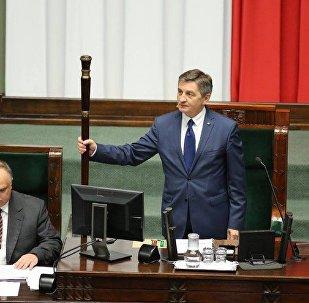 Маршал Сената Польши Станислав Карчевский