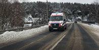 Автомобиль скорой помощи в Польше, архивное фото