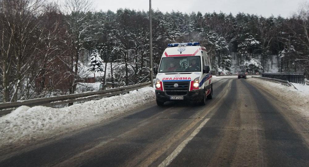 Ваварии напольской трассе погибли россиянин идвое белорусов