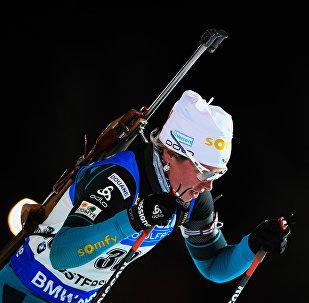 Мари Дорен-Абер (Франция) на дистанции
