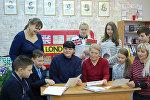 Лицеисты глубокской гимназии получили письмо из Букингемского дворца