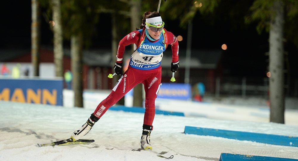 Коукалова выиграла гонку преследования вЭстерсунде— Кубок мира