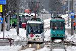 Трамвайное движение в Минске