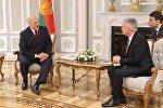 Встреча президента Беларуси Александра Лукашенко с маршалом сената Польши Станиславом Карчевским