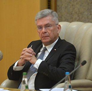 Маршал Сената Польшчы Станіслаў Карчэўскі