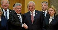 Руководители верхних палат парламентов Беларуси и Польши
