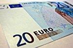 Купюра достоинством 20 евро