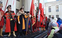 Видеофакт: участники исторических клубов Польши съехались в Гродно