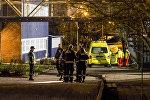 Полиция на месте происшествия в Кристиансанде