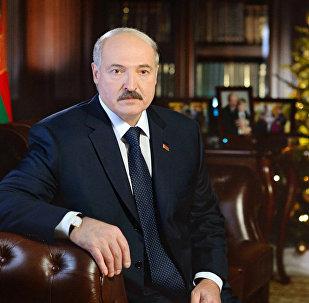 Новогоднее обращение - 2015 президента Республики Беларусь Александра Лукашенко к белорусскому народу