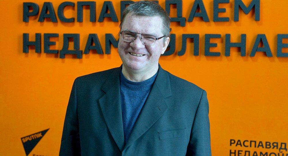 Палітолаг Аляксандр Ціханскі