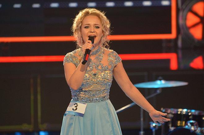 Kattie исполняет Wild Wind на отборе на Евровидение