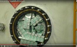 Видеофакт: цистерну сигарет пытались провезти из Беларуси в Польшу