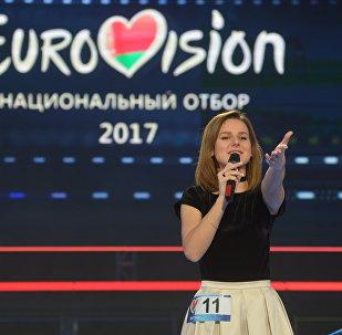 Участница финального шоу нацотбора на Евровидение-2017 Анжелика Пушнова