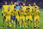 Игроки ФК Ростов перед матчем Лиги чемпионов