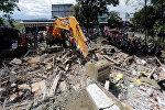 Последствия земелтрясения в Индонезии