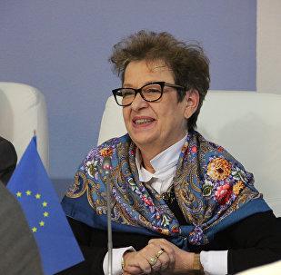 Глава представительства ЕС в республике Андреа Викторин