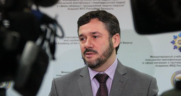 Посол Литвы в Беларуси Андрюс Пулокас