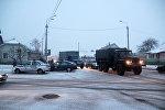 ДТП с участием грузовика ГАЗ-53 и ребенка в Барановичах